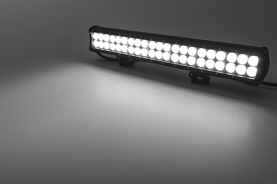 20 quot road led light bar 126w 8 820 lumens led light bars for trucks bright leds