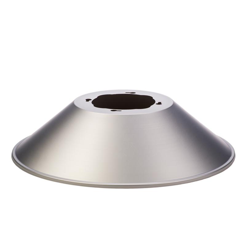 Led High Bay Prismatic Reflector: LED High Bay Light Reflector - 120 Degree Aluminum