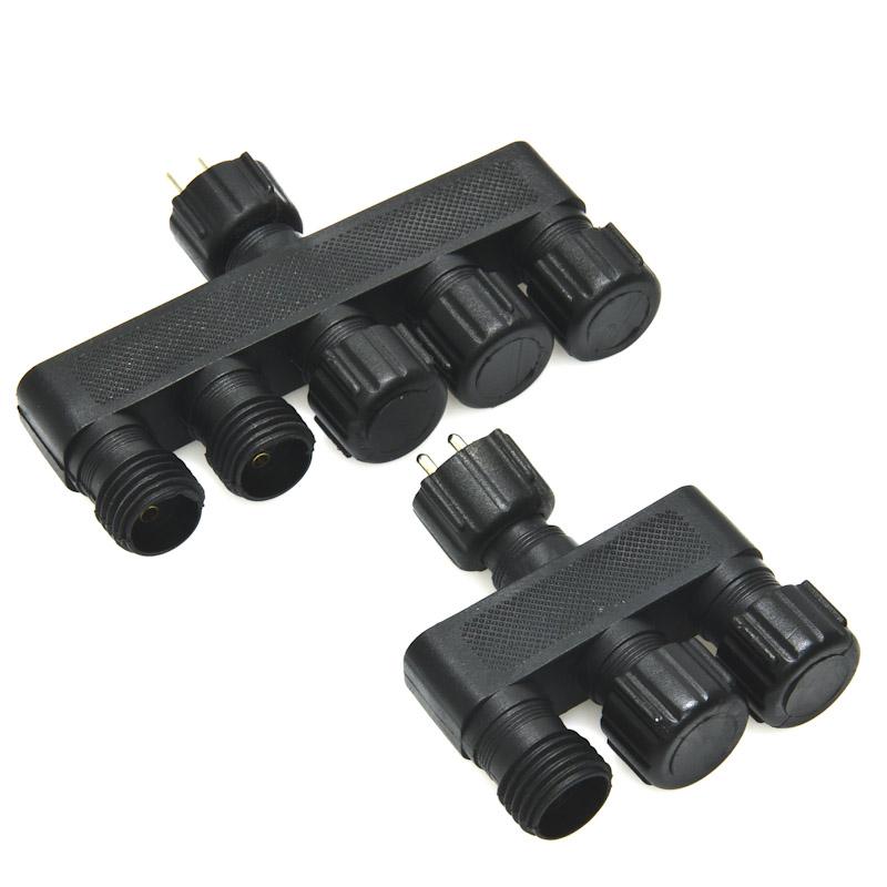 Cci Low Voltage Connectors : Cable connector splitter hub super bright leds