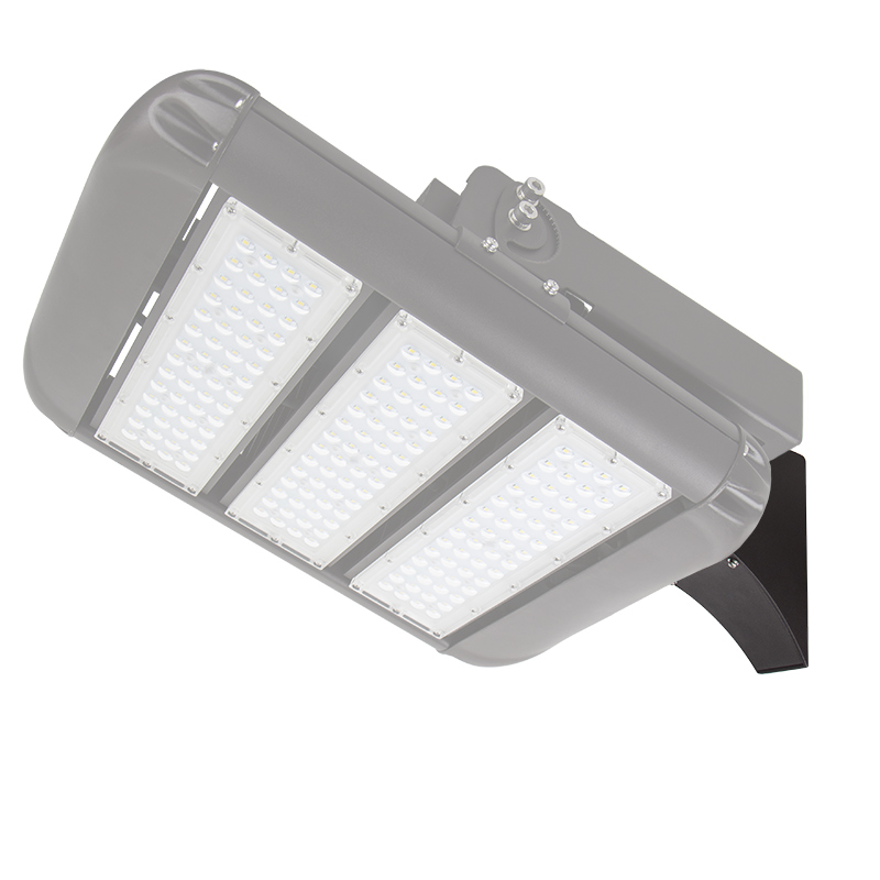 Led Light Fixtures For Parking Garages: Square Mount Fixed Arm Kit For Parking Lots