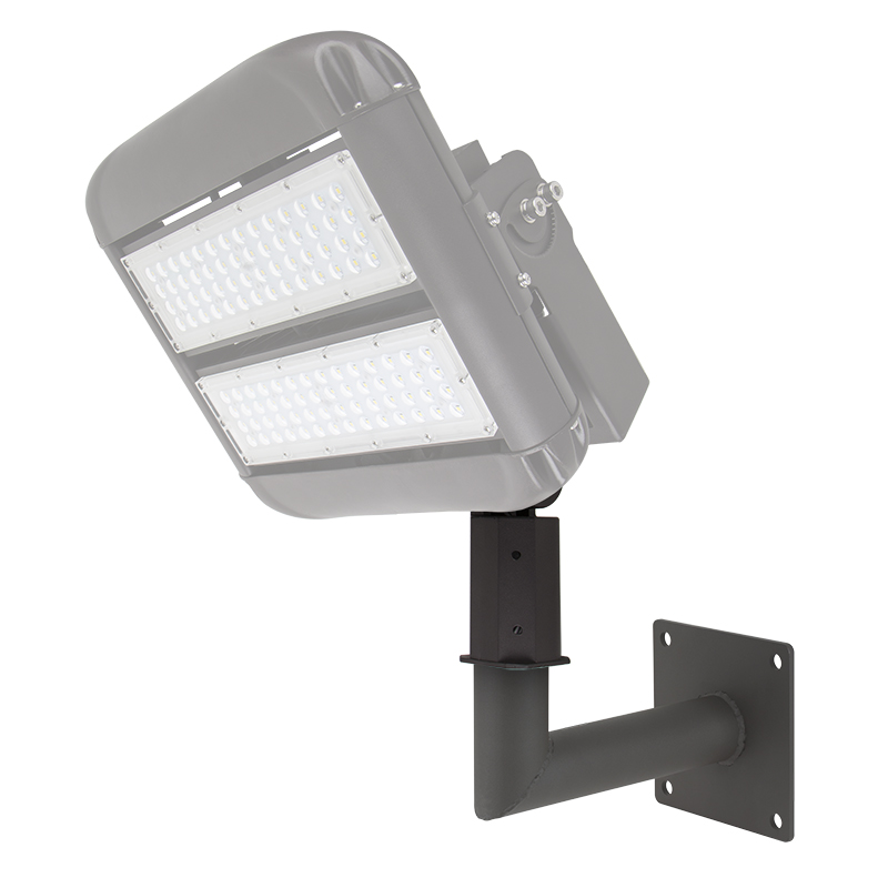 Led Light Fixtures For Parking Garages: Wall-Mount Kit For LED Area Lights