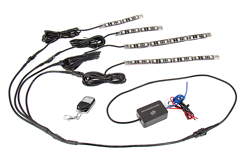 motorcycle led lighting kit