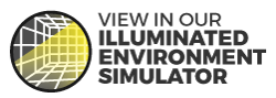 View HPAL-x200-BP9 in our Illuminated Environment Simulator