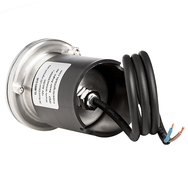led in ground well light 3 watt 31 lumens led well. Black Bedroom Furniture Sets. Home Design Ideas