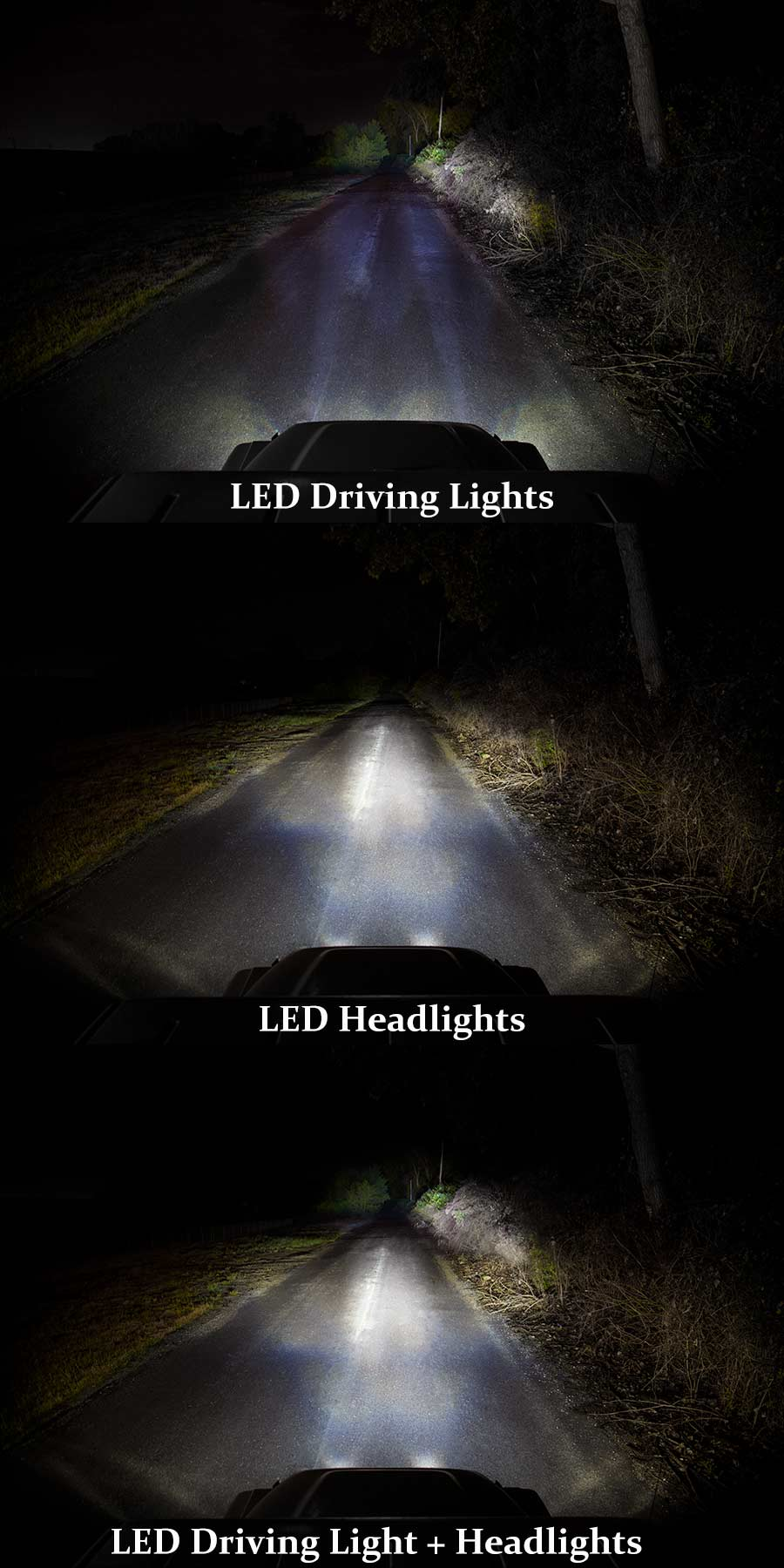 led driving light 3 square 25w auxiliary driving. Black Bedroom Furniture Sets. Home Design Ideas