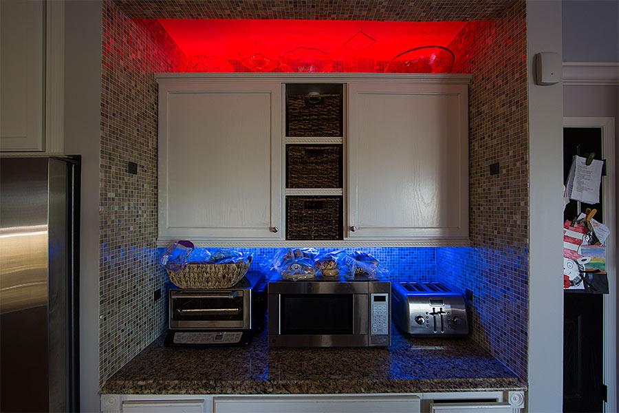 Multi-Color LED Lighting Kit - Weatherproof Multi-Strip Remote ...