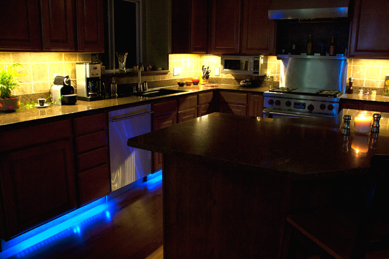 Kitchen Led Strip Home Design Jobs