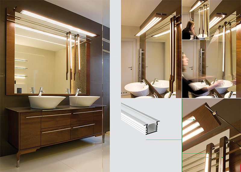 Deep Flush Mount Aluminum Profile Housing For Led Strip Lights Klus Pds4 K Series Super