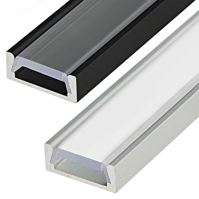 Low Profile Surface Mount Led Profile Housing For Led