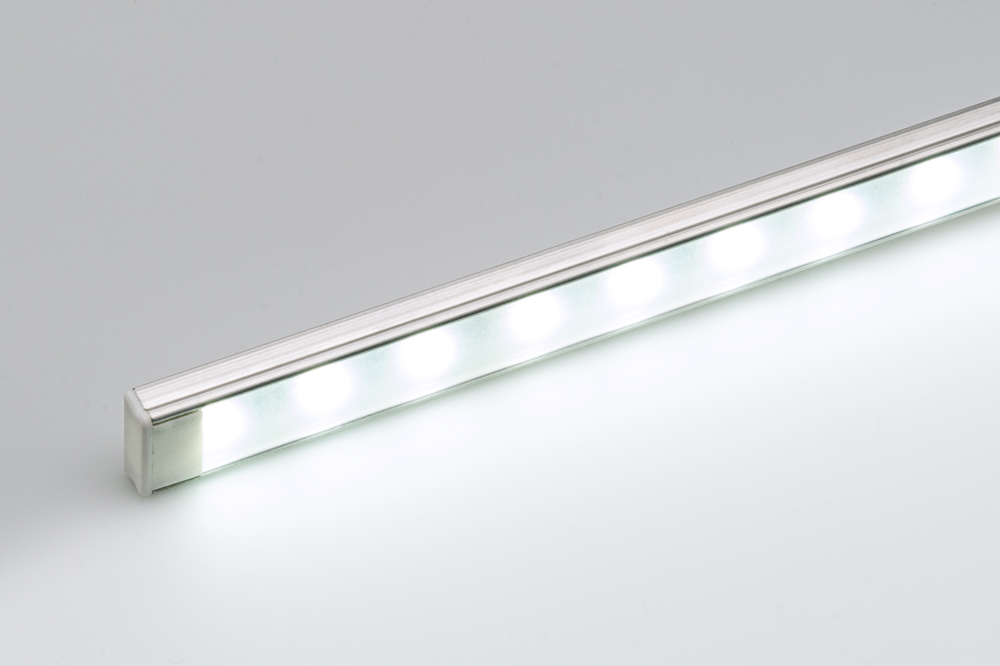 ECO series Surface Mount Aluminum Klus LED Profile Housing - TAMI shown with end cap and NFLS-X3 LED Light Strip (not included) & Aluminum Surface Mount LED Profile Housing for LED Strip Lights ... azcodes.com