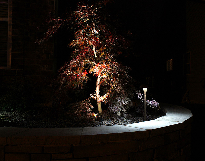 Do your own landscape lighting : Led in ground well light watt lumens