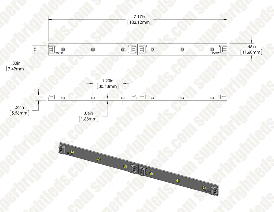 LB4-x6-SMD series LED Light Bar