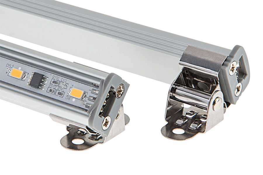 Led linear light bar fixture 874 lumens aluminum light for Bar fixtures