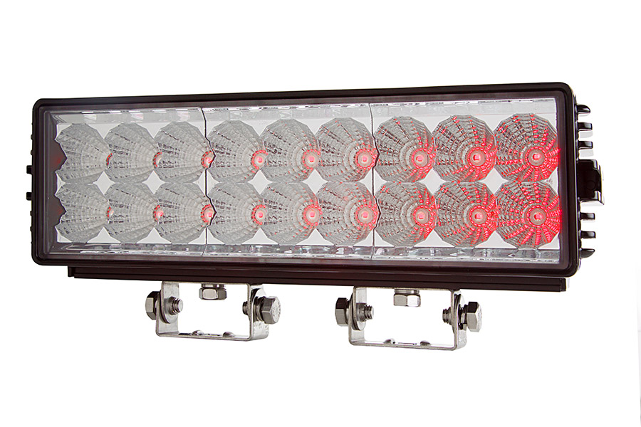 11 off road infrared led light bar 18w specialty high power led spo. Black Bedroom Furniture Sets. Home Design Ideas