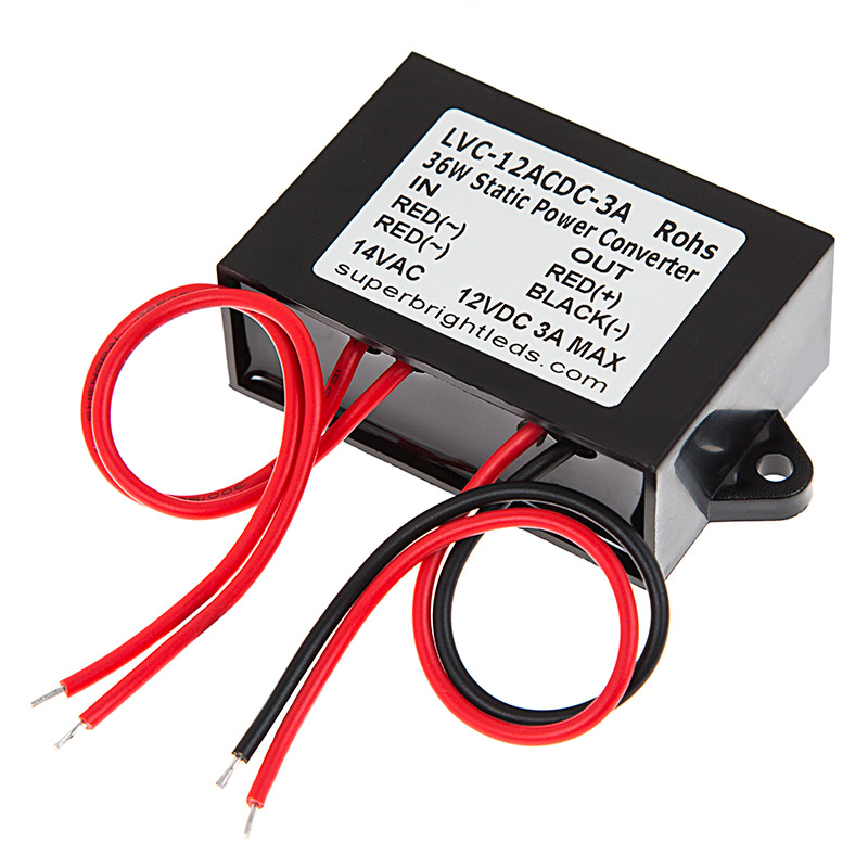 12v Ac To Dc Converter Module Super Bright Leds