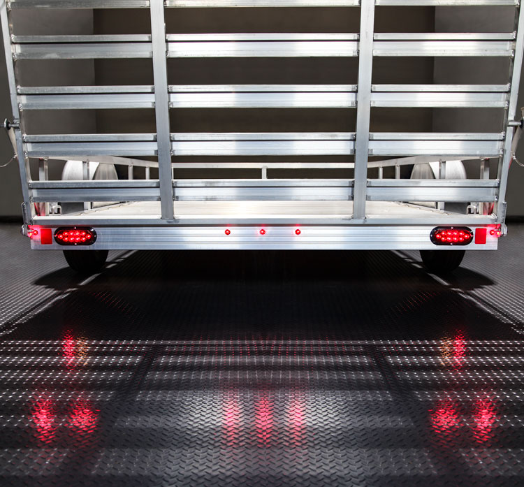 Round led truck and trailer lights w grommet 34 pc rated led rmpc series led mini round marker lamp on trailer aloadofball Images