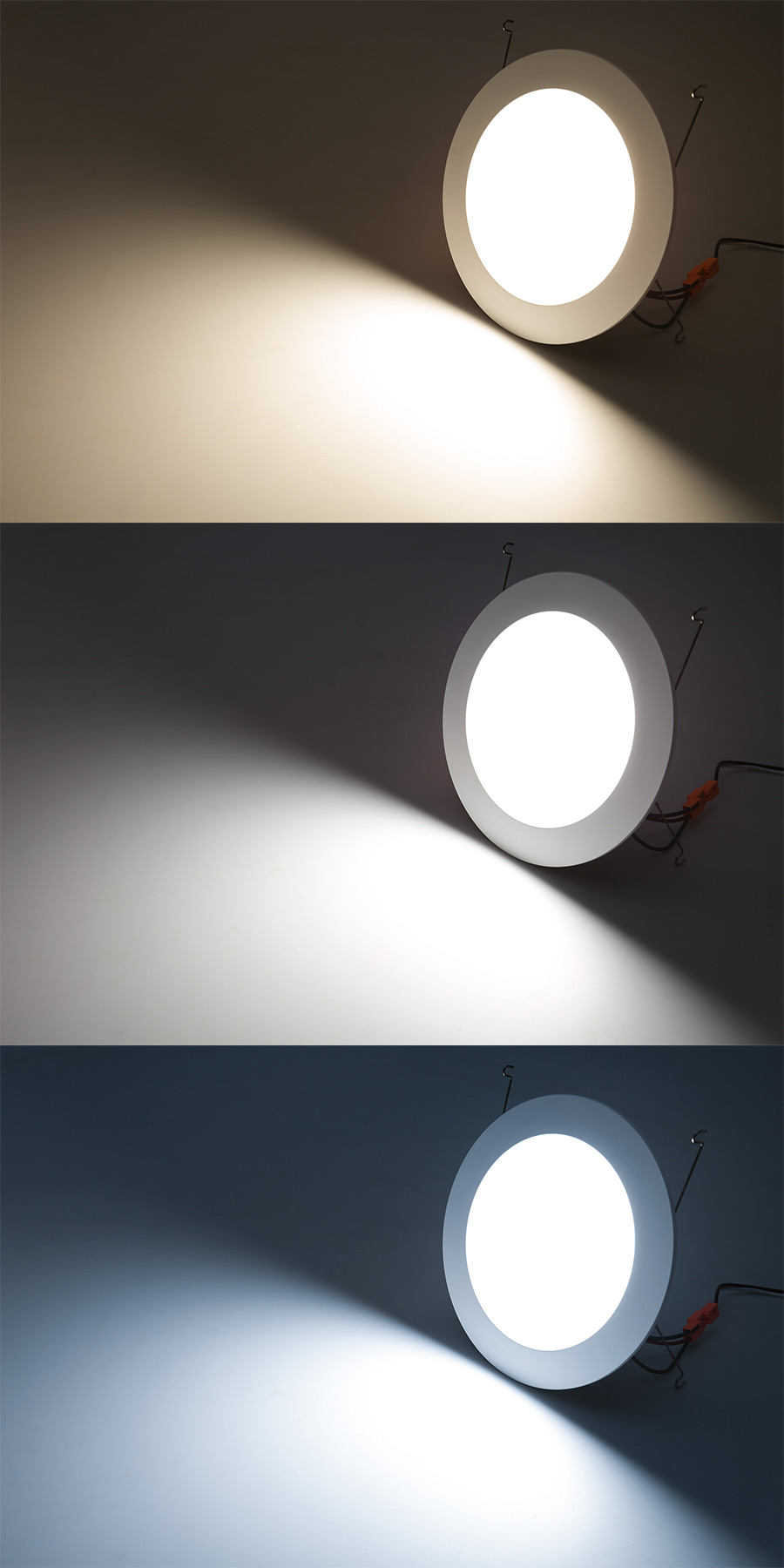 LED Recessed Lighting Kit for 6\