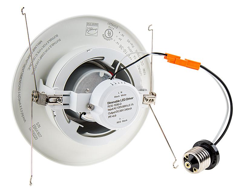 Led Recessed Lighting Kit For 5 Quot 6 Quot Cans Retrofit Led