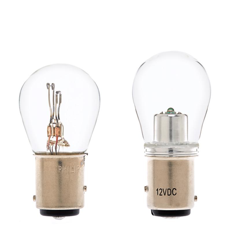 Led Bulb Cover: 1157 LED Bulb W/ Stock Cover