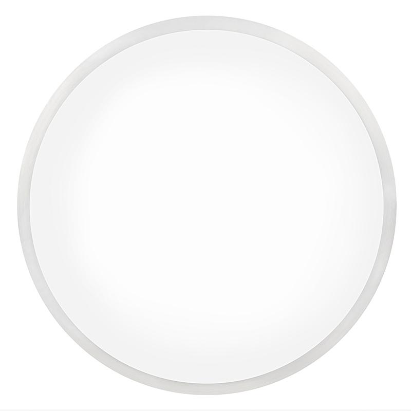 lightinthebox pendant led ring flush mount ceiling light fixture 26w white housing acrylic lens fron