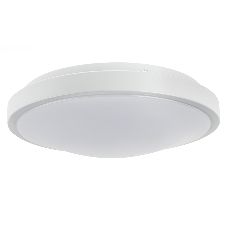 12 flush mount led ceiling light w white housing 105. Black Bedroom Furniture Sets. Home Design Ideas