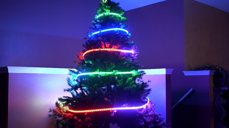 SEDC Series Dream Color Flexible RGB LED Strip | Flexible LED .