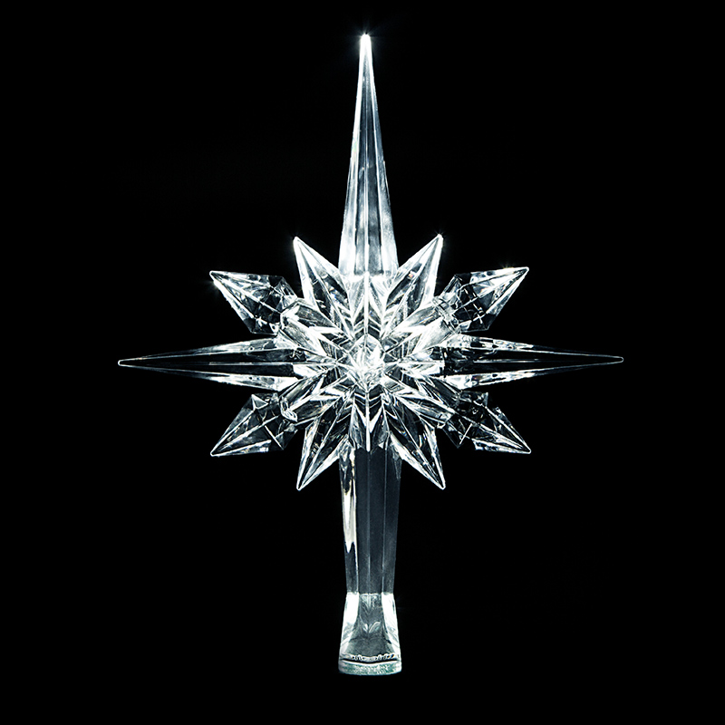 Led Christmas Star Tree Topper