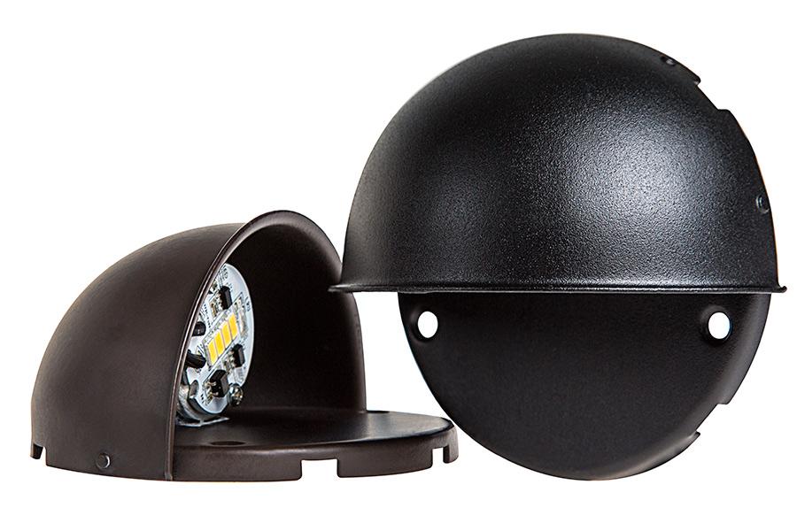 led deck and step light 4 watt led landscape lighting super. Black Bedroom Furniture Sets. Home Design Ideas