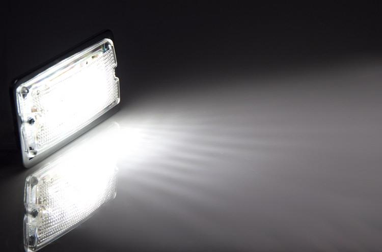 Rectangle Dome Light LED Fixture LED Truck and Trailer Lights Super Bright LEDs