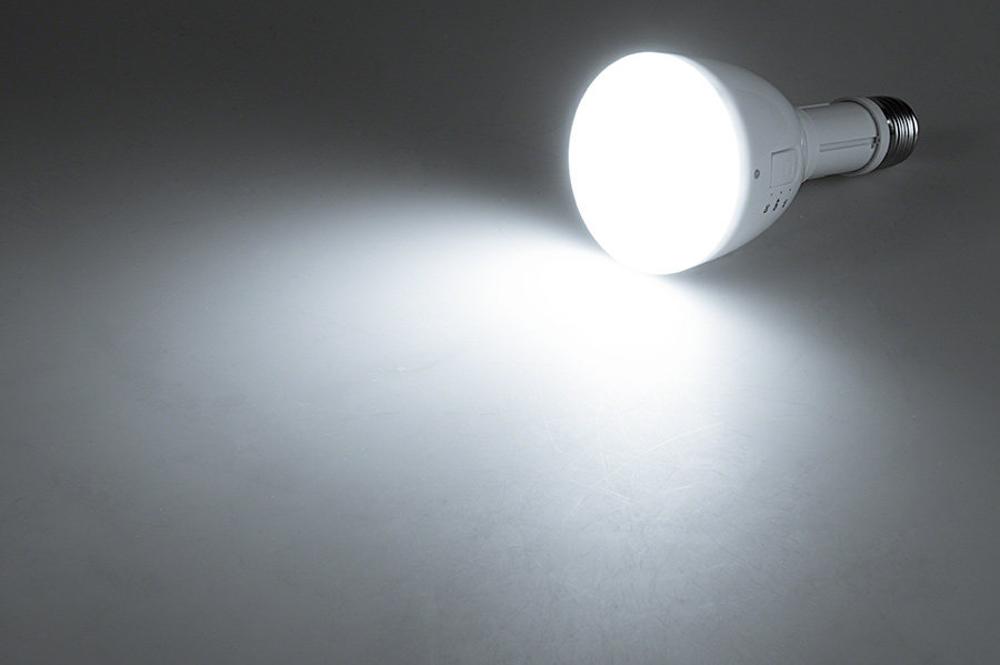 Led Emergency Light Bulb For Power Outages With Remote And Internal