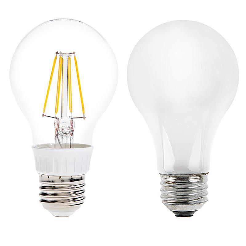 a19 led filament bulb 40 watt equivalent led vintage light bulb. Black Bedroom Furniture Sets. Home Design Ideas