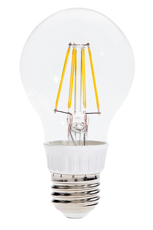 Led Filament Bulb A19 Led Bulb With 4 Watt Filament Led Warm White A19 Led Bulb A19 Led