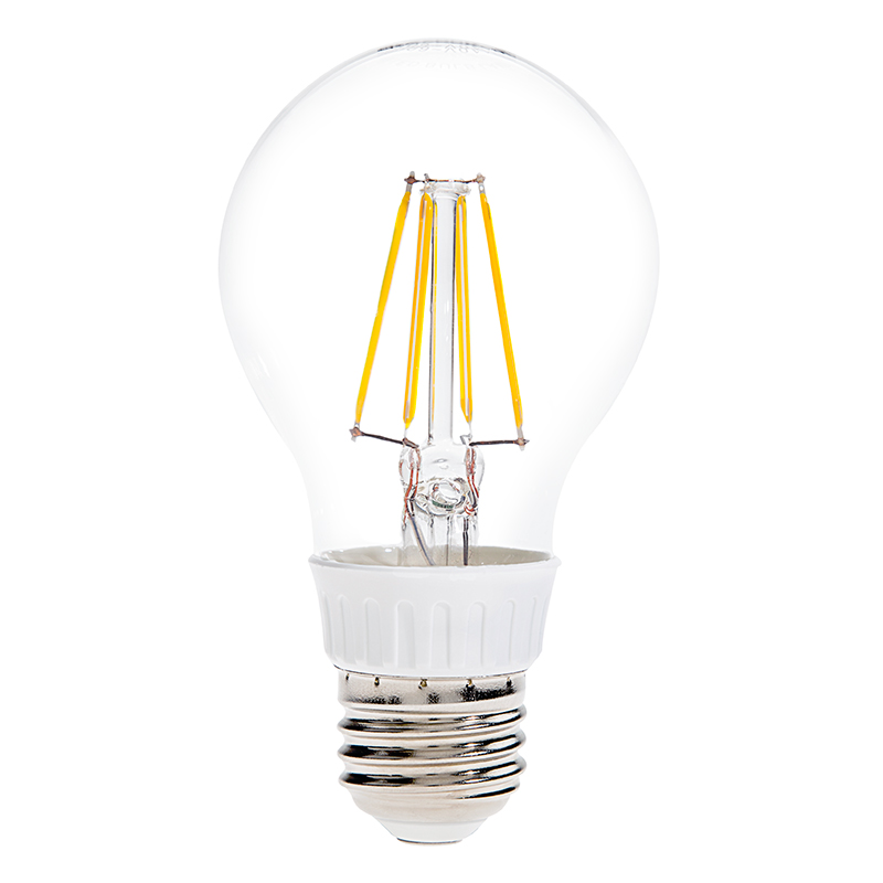 a19 led filament bulb 40 watt equivalent led vintage light bulb household a19 globe par. Black Bedroom Furniture Sets. Home Design Ideas