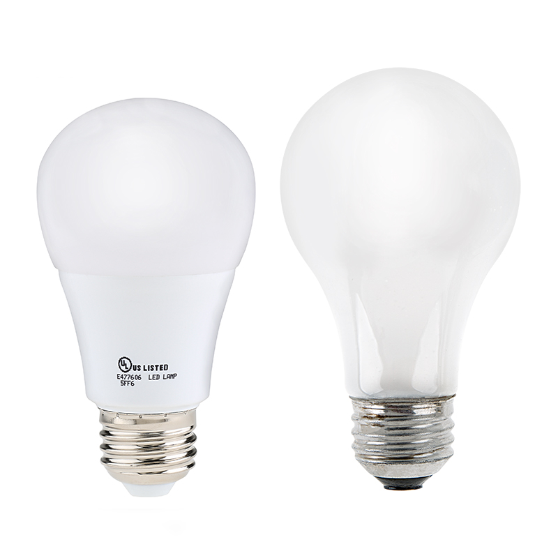 a19 led globe bulb 10 watt dimmable super bright leds. Black Bedroom Furniture Sets. Home Design Ideas