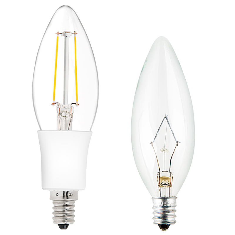 Candelabra Led Bulb: 20 Watt Equivalent LED Candelabra
