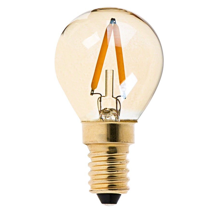 S11 LED Bulb - Gold Tint LED Filament Bulb - 10 Watt Equivalent ...