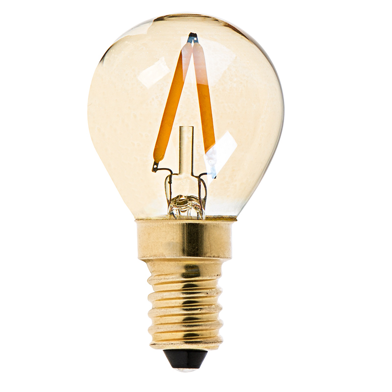 s11 led bulb gold tint led filament bulb 10 watt equivalent e14 base dimmable 95. Black Bedroom Furniture Sets. Home Design Ideas