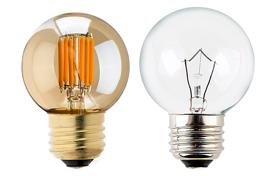 G16 5 Led Bulb Gold Tint Led Filament Bulb 25 Watt Equivalent Dimmable 235 Lumens Led