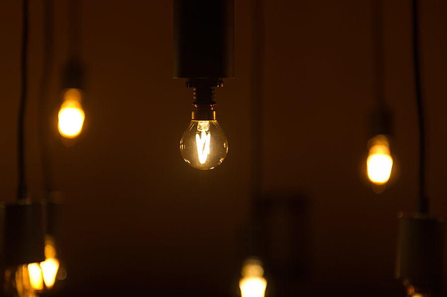 S11 LED Bulb - Gold Tint LED Filament Bulb - 10 Watt Equivalent ...