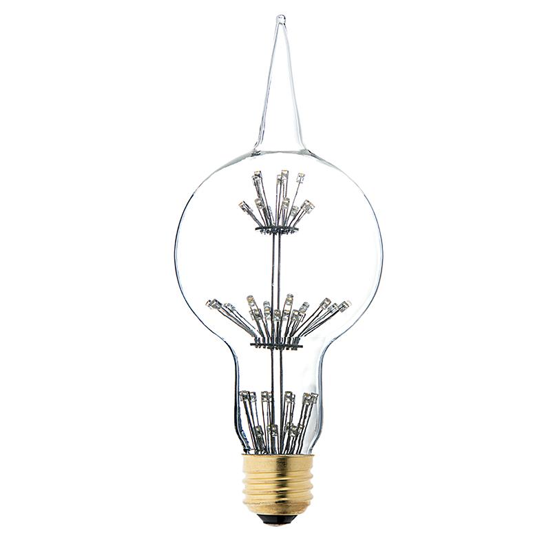 led fireworks bulb g80 decorative alien light bulb 15 watt equivalent dimmable 101. Black Bedroom Furniture Sets. Home Design Ideas
