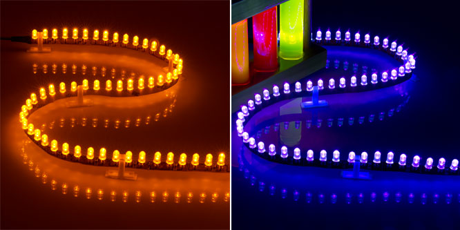 Side Emitting Led Light Strips Led Tape Light With 29