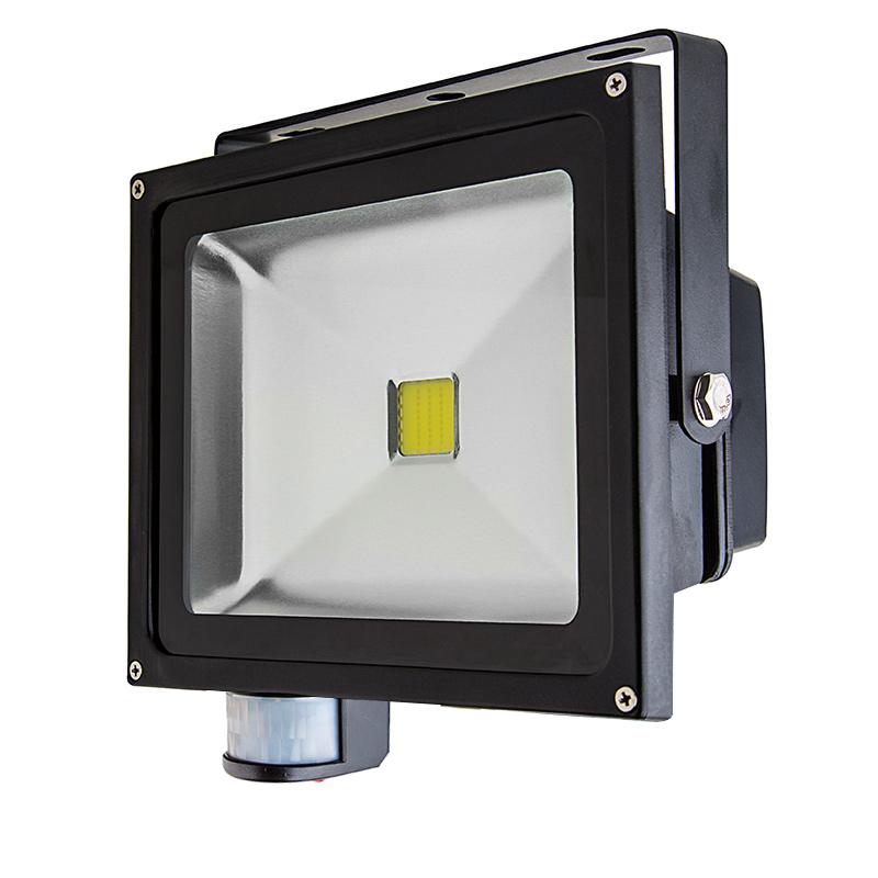30 Watt High Power LED Flood Light Fixture with Motion