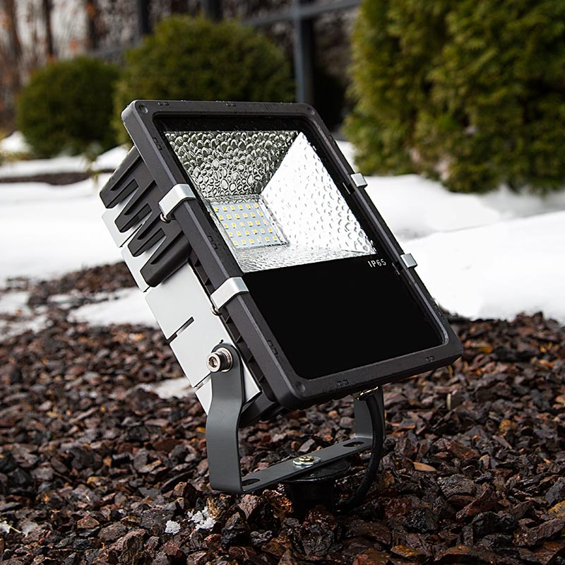 Ground Mounting Stake For LED Compact Flood Light Fixture