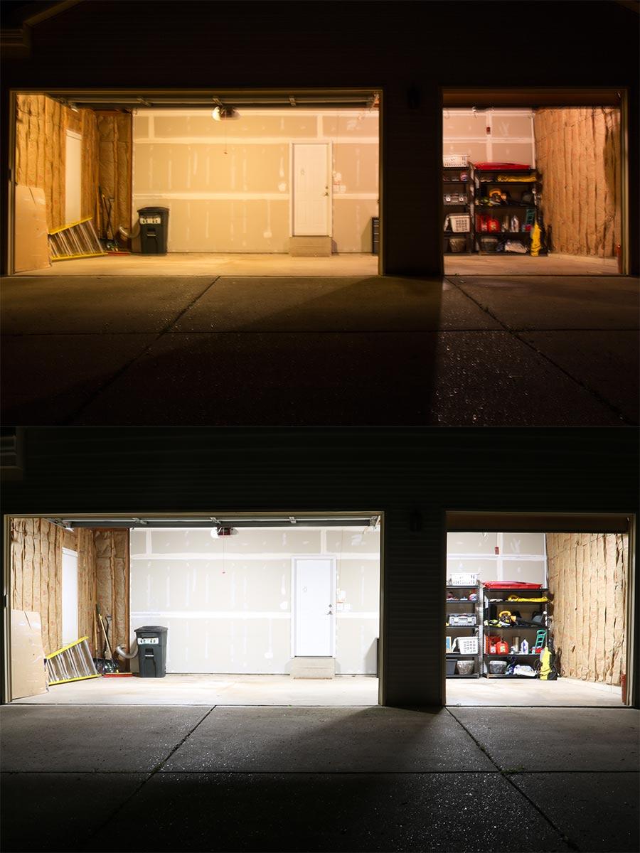 30w led shop light garage light 2 39 long 3 400 lumens for Tube led garage