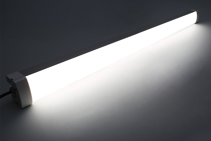 Industrial Led Light 50w On Showing Beam Pattern