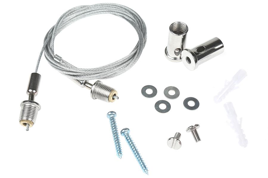 led garage  shop light suspension kit