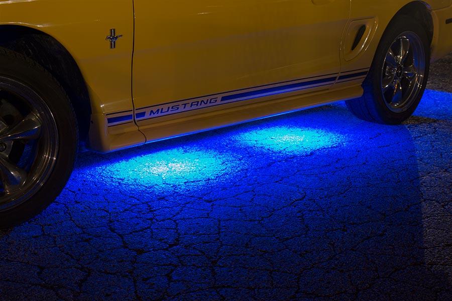 Led Ground Effect Lighting Kit 8 Led Light Modules Led