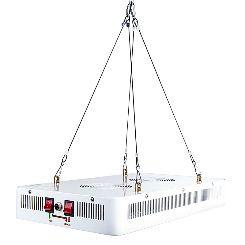 Full spectrum led grow light w color control switches for Led plant floor lamp