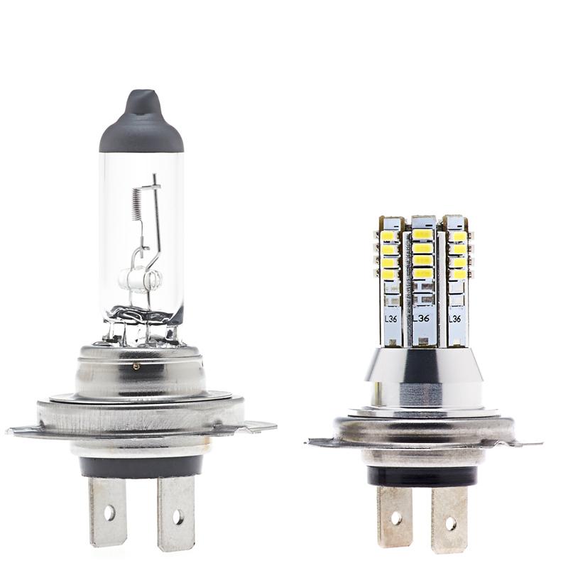 H7 Led Fog Light Daytime Running Light Bulb 36 Smd Led