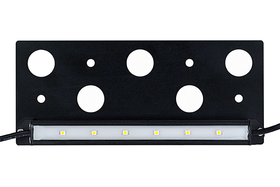 outdoor lighting wall mount plate. led hardscape light - 6\ outdoor lighting wall mount plate